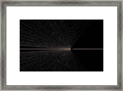 Warp Speed Framed Print by Thomas Smith