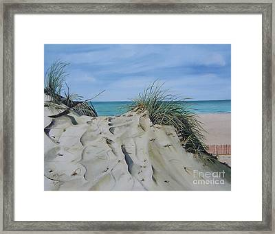Warren Dunes Framed Print