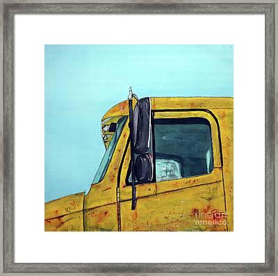 Warren Outt Trucking Co Framed Print by Tim Ross