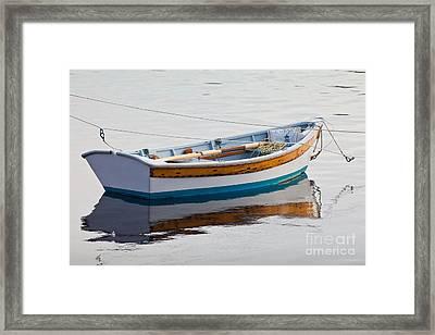 Warren Rowboat Framed Print by Susan Cole Kelly