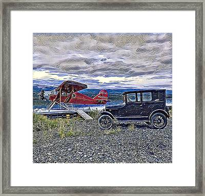 Warren's Passion Framed Print