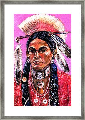 Warrior 1 Framed Print by John Keaton