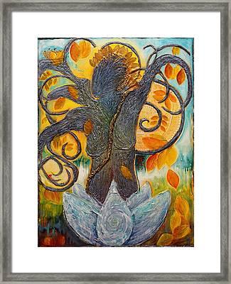 Warrior Bodhisattva Framed Print