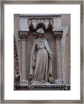 Warrior Dame Framed Print by Edan Chapman