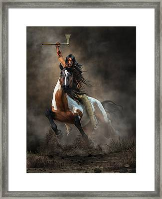 Warrior Framed Print by Daniel Eskridge