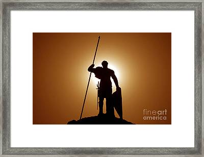 Warrior Framed Print by David Lee Thompson