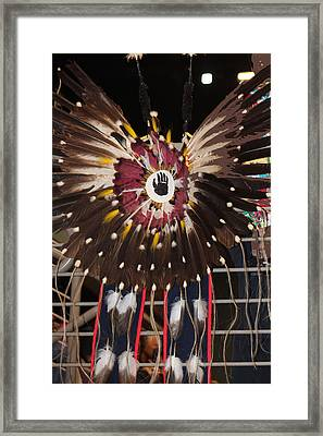 Warrior Feathers Framed Print