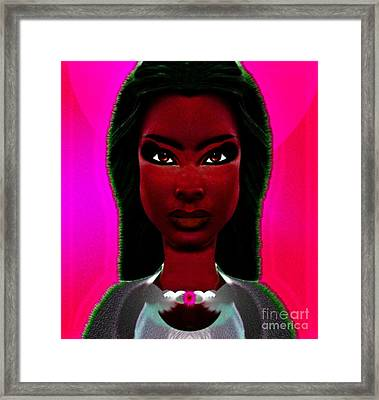 Warrior Goddess 3 Framed Print by Devalyn Marshall