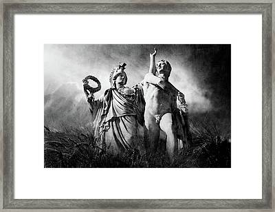 Framed Print featuring the photograph Warrior by Marc Huebner