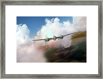Warrior Framed Print by Peter Chilelli