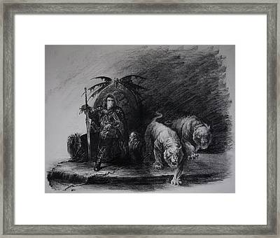 Warrior Framed Print