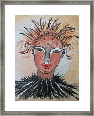 Warrior Woman  #3 Framed Print by Sharyn Winters