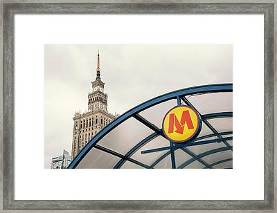 Framed Print featuring the photograph Warsaw by Chevy Fleet