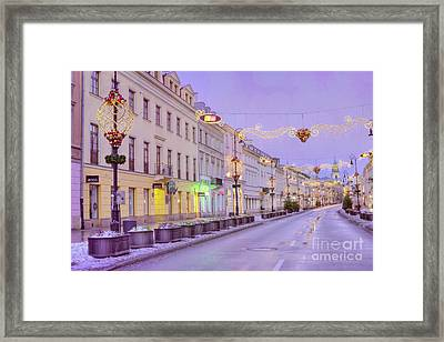 Framed Print featuring the photograph Warsaw by Juli Scalzi