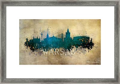 Warsaw Poland Framed Print