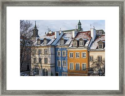 Framed Print featuring the photograph Warsaw, Poland by Juli Scalzi