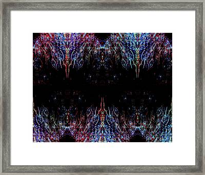 Warships Framed Print by Samantha Thome