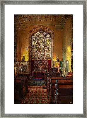 Warwick Castle Chapel Framed Print by Chris Lord