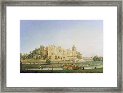 Warwick Castle Framed Print by Francis Harding
