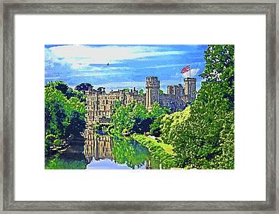 Warwick Castle Framed Print by Peter Allen
