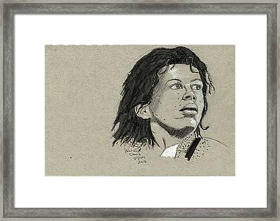 Warwick Davis Framed Print