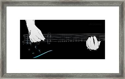 Warwick Five String Bass Framed Print
