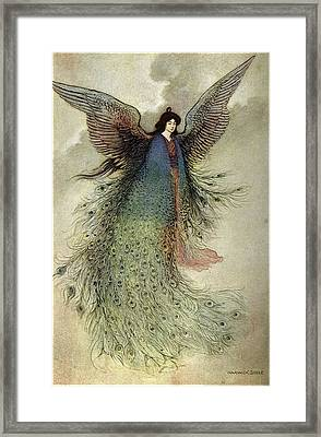 Warwick Goble Framed Print by MotionAge Designs