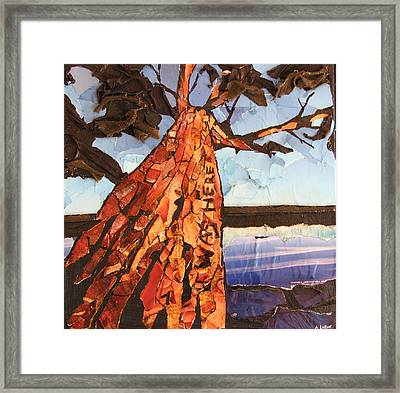 Was Here 2 Framed Print by Alicia  LaRue