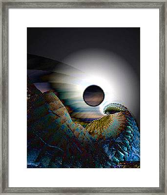 Was It Wonder Framed Print by Rebecca Phillips