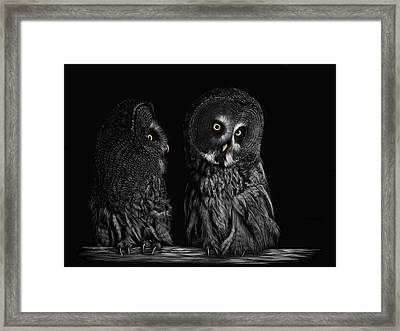 Was That You? Framed Print by Heather Ward