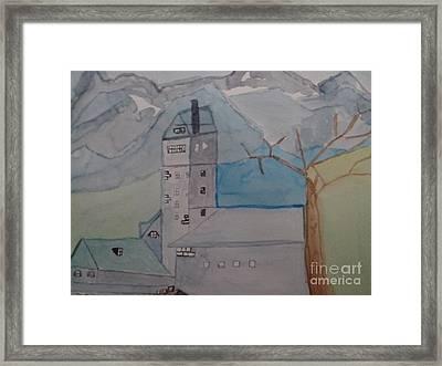 Wasacher Wasserturm Framed Print by Alexander Christian Schilder