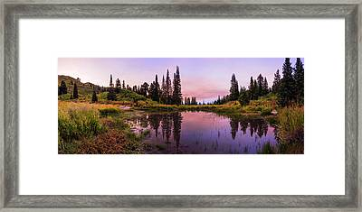 Wasatch Back Framed Print by Chad Dutson