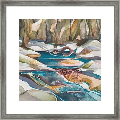 Wasatch Beaver Dam Framed Print
