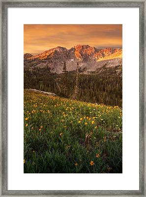 Wasatch Mountains Framed Print by Utah Images
