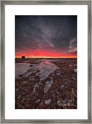 Wascana Dawn Framed Print by Ian McGregor