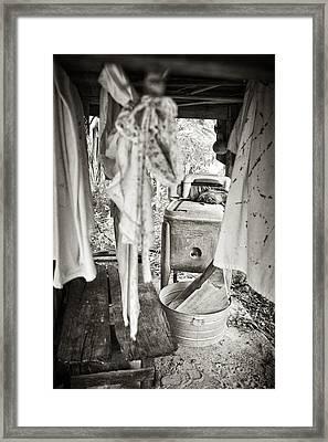 Wash Day 1 Framed Print by Patrick M Lynch