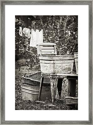 Wash Day 2 Framed Print