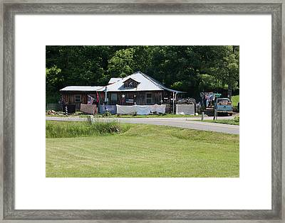 Wash Day Framed Print by Suzanne Gaff