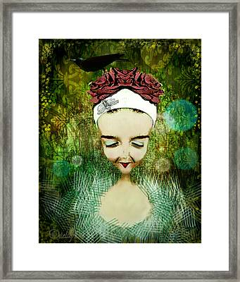 Framed Print featuring the digital art Wash Your Face Each Night by Delight Worthyn