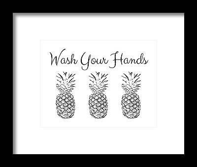 Hand Signs Framed Prints