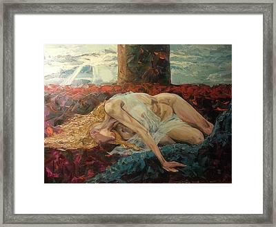 Washed Ashore Framed Print by Edward Tomilov