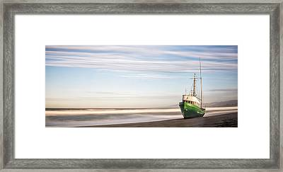 Washed Ashore Framed Print by Jon Glaser
