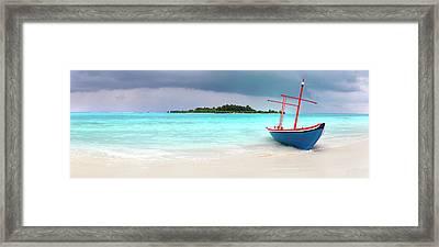 Washed Ashore Framed Print