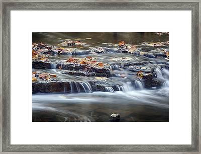 Washed Away Framed Print