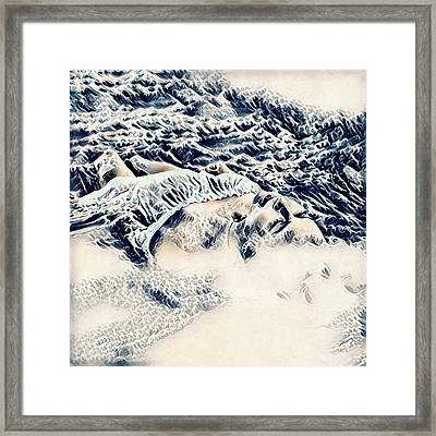 Washed Away Framed Print by Susan Maxwell Schmidt