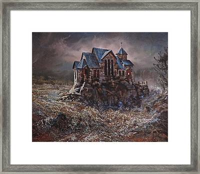 Washed In The Waters Framed Print