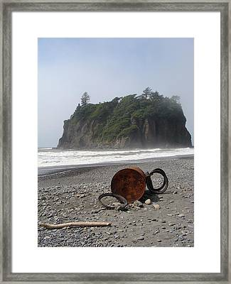 Washed Up Framed Print by Ty Nichols