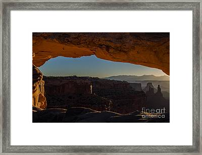 Washer Woman Framed Print by Paul Noble
