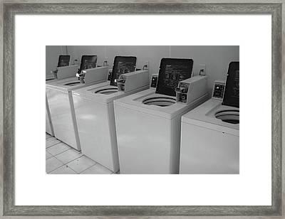 Washers Framed Print