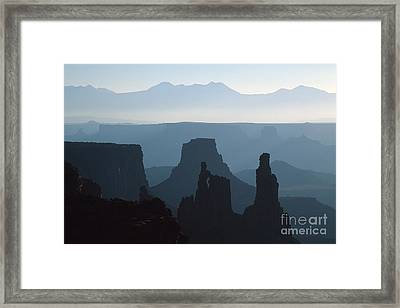 Washerwoman Arch Framed Print by Stan and Anne Foster